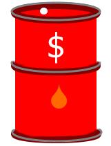 crude oil barrel